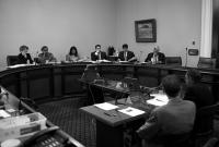 Assembly budget hearing.  © 2012 California State Democratic Caucus