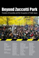 Cover of Beyond Zuccotti Park, published by New Village Press. ©2012 New Village Press