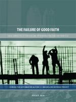 Failure of Good Faith