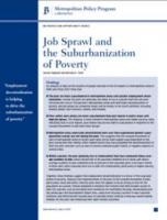 Job Sprawl and the Suburbanization of Poverty
