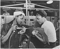 Rosie the Riveter, 1942. Courtesy of the blackhistoryalbum.com