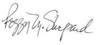 11-2 Signature Peggy Shepherd