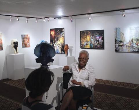 Joyce Gordon and Christine Joy Ferrer, Joyce Gordon Gallery © 2015 Jarrel Phillips