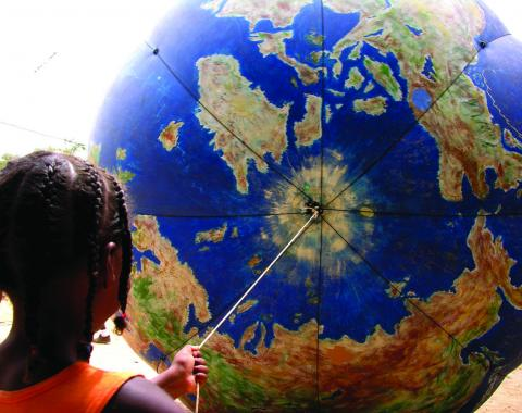 World Social Forum in Porto Alegre. cc. 2004 Raquel Tannuri Santana