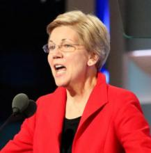 Elizabeth_Warren_2016_DNC_cropped.jpgBy A. Shaker/VOA [Public domain], via Wikimedia Commons from Wikimedia Commons